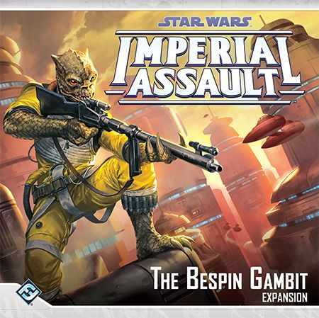 Star Wars Imperial Assault The Bespin Gambit cover