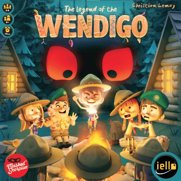 The Legend of the Wendigo cover