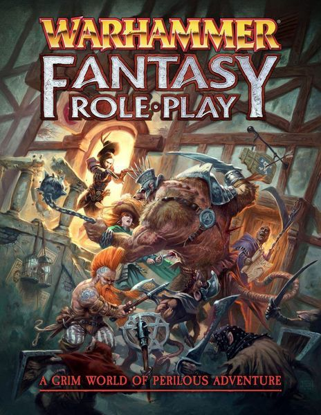 Warhammer Fantasy Roleplay cover