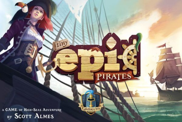 Tiny Epic Pirates cover