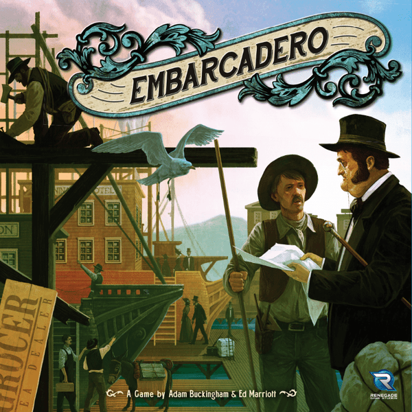 Embarcadero board game cover