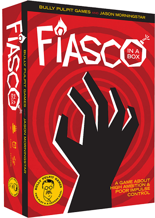 Fiasco 2nd Edition RPG cover