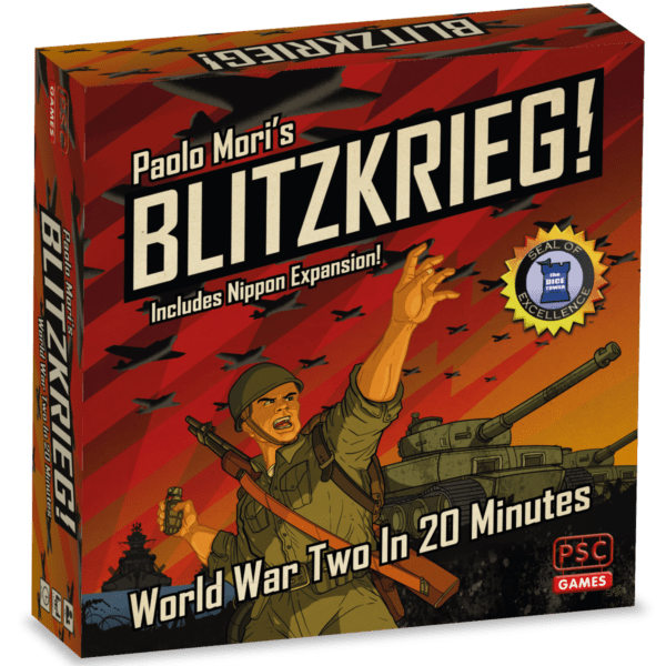 Blitzkrieg! Board Game 2nd Edition Cover