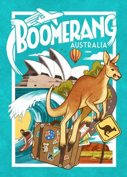 Boomerang Australia Game cover