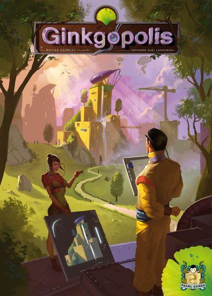 Ginkgopolis Reprint 2021 Cover