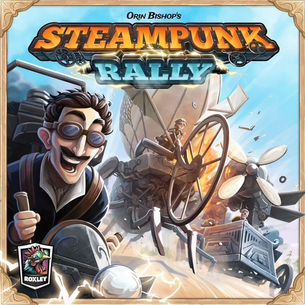 Steampunk Rally cover