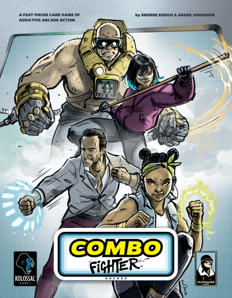 Combo Fighter Card Game cover