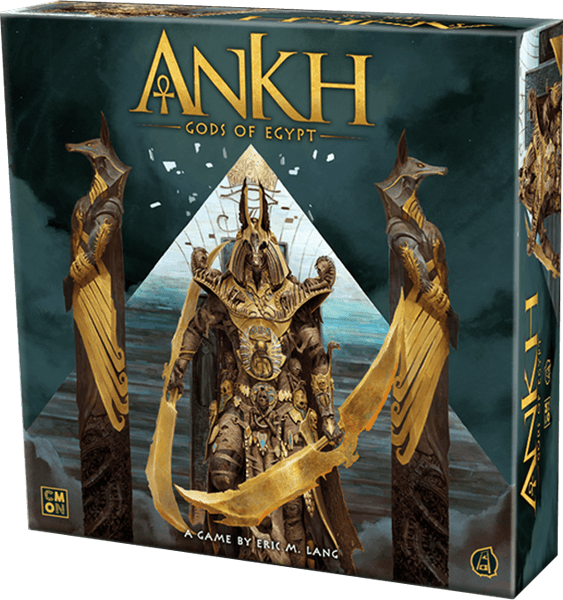 Ankh Gods of Egypt Board Game box