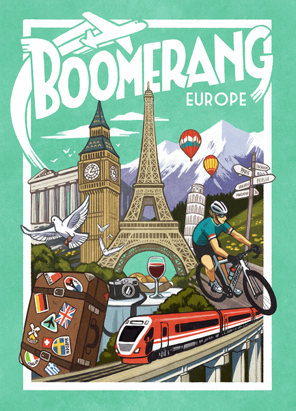 Boomerang Europe Game cover