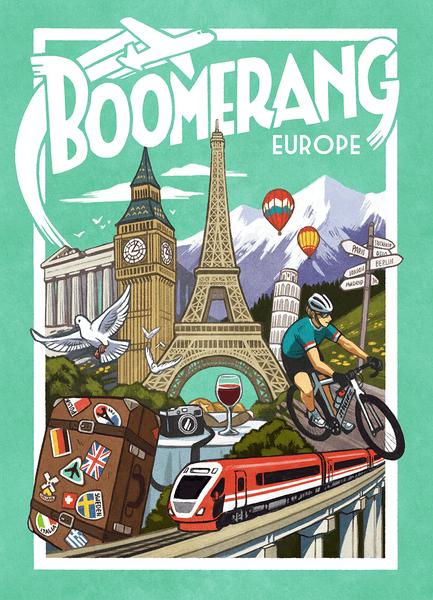 Boomerang Europe Game cover