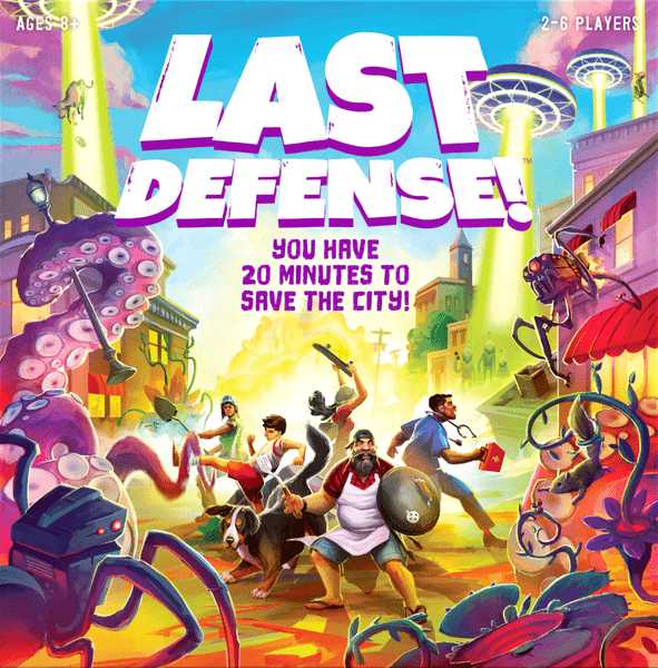 Last Defense Board Game cover