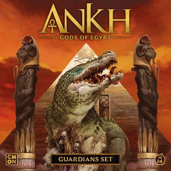 Ankh Gods of Egypt Guardians Set cover