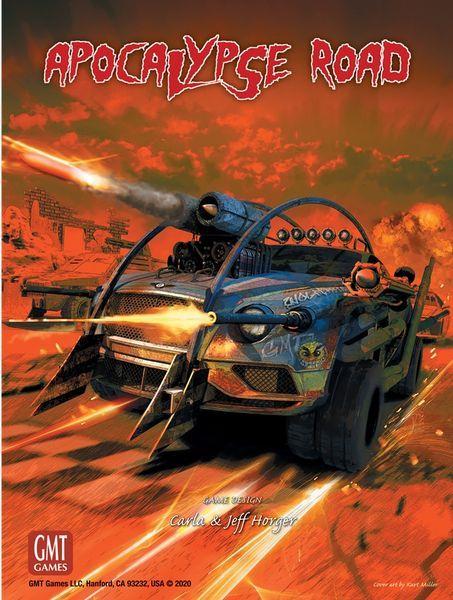 Apocalypse Road Board Game cover
