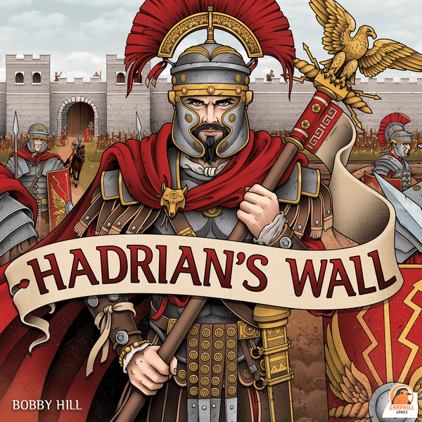 Hadrian's Wall Board Game cover