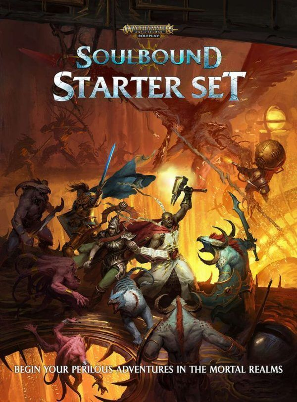 Warhammer Age of Sigmar: Soulbound Starter Set cover