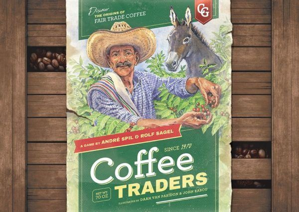 Coffee Traders Board Game cover