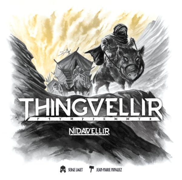 Nidavellir Thingvellir cover