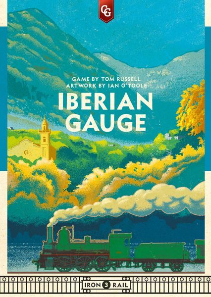 Iberian Gauge Board Game cover