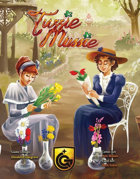 Tussie Mussie Card Game cover