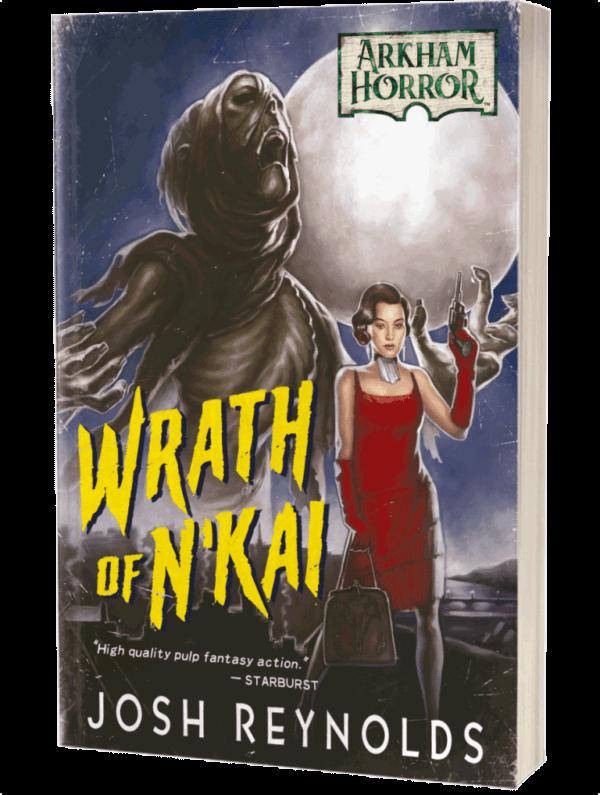 Arkham Horror Wrath of N'Kai cover