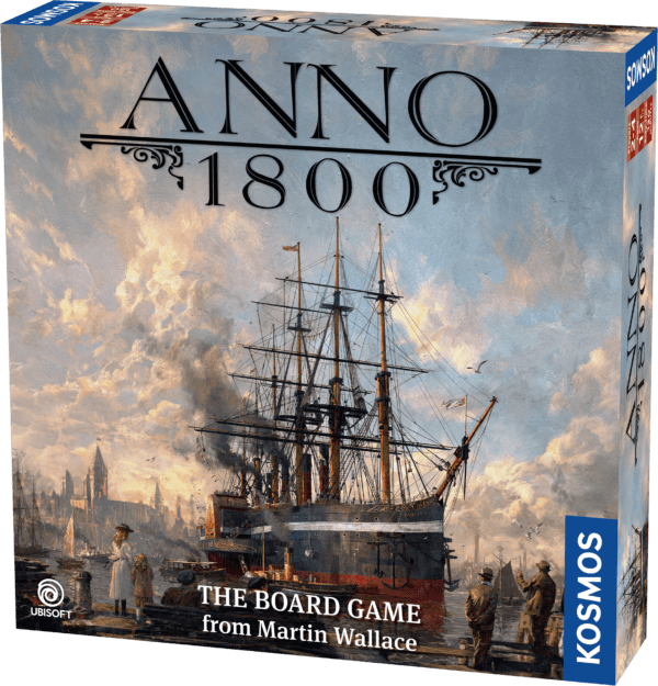 Anno 1800 Board Game English Edition cover