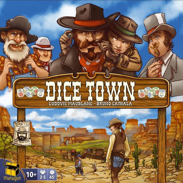 Dice Town (2017 Edition) Cover