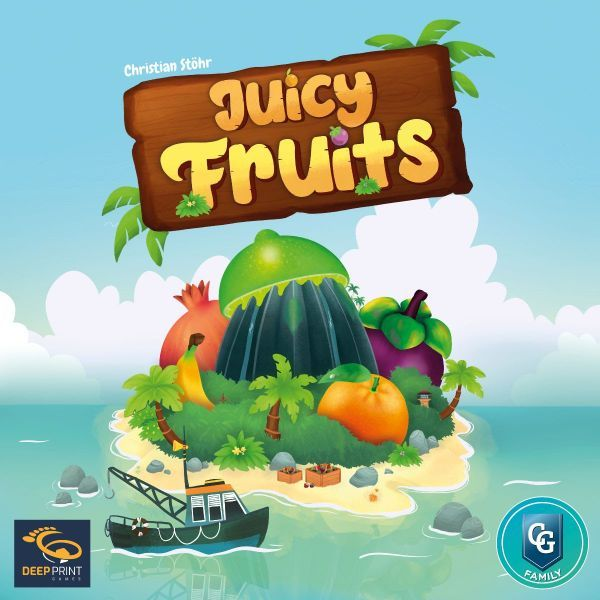 Juicy Fruits Board Game cover