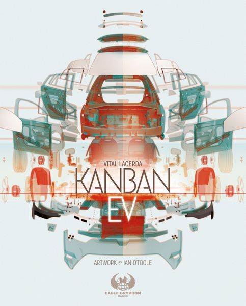 Kanban EV Board Game cover