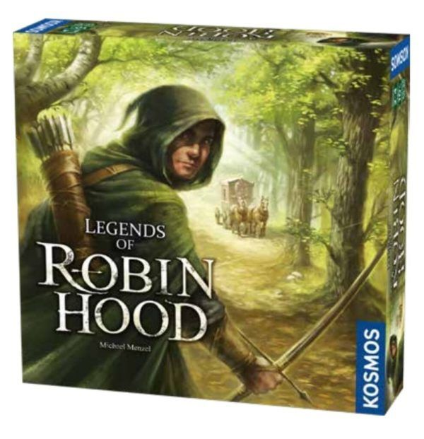 The Adventures of Robin Hood board game cover