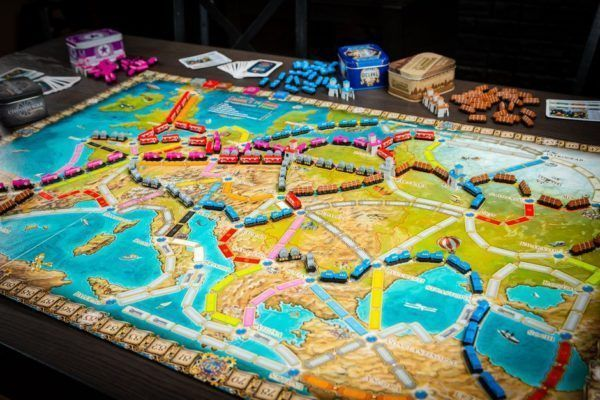 Ticket to Ride Europe 15th Anniversary Components