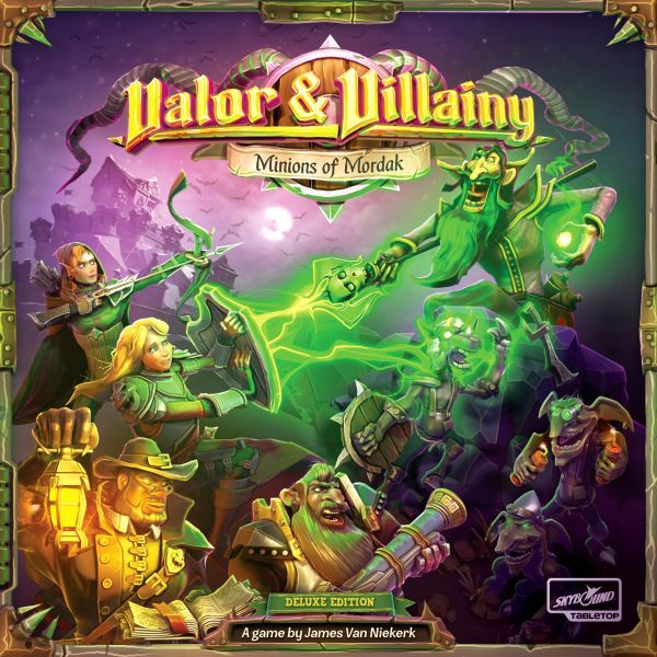 Vallor and Villainy Minions of Mordak Cover