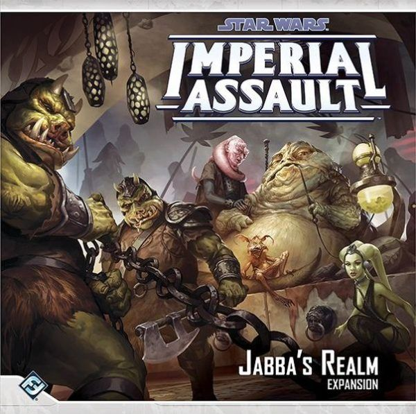 Star Wars Imperial Assault Jabba's Realm Expansion Cover