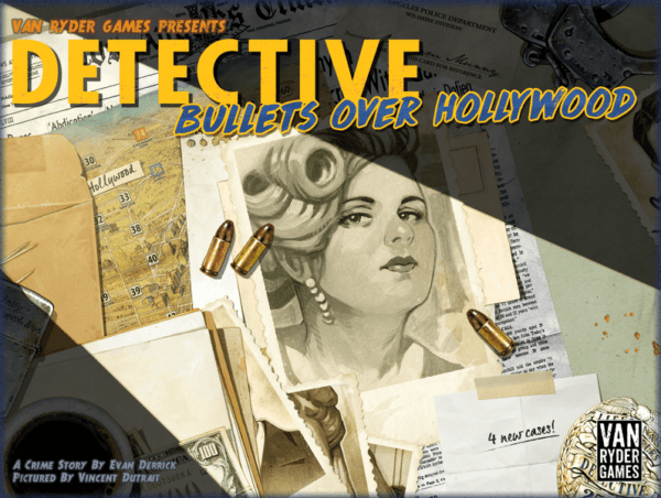 Detective City of Angels - Bullets over Hollywood cover