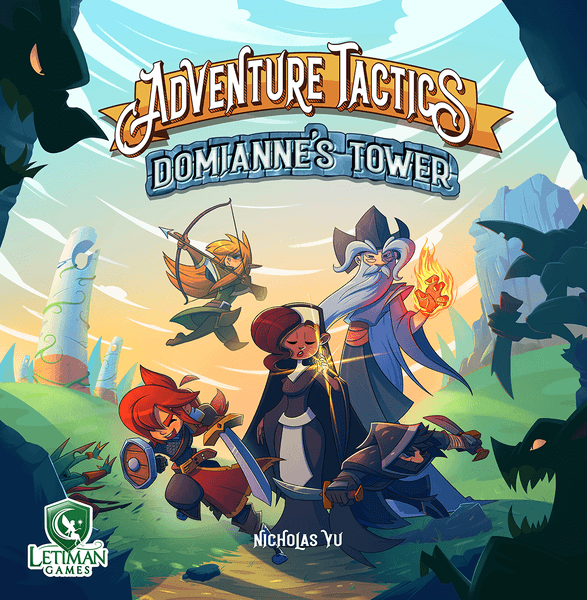 Adventure Tactics Domianne's Tower Cover