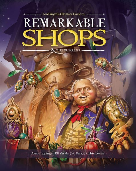 Remarkable Shops And Their Wares cover
