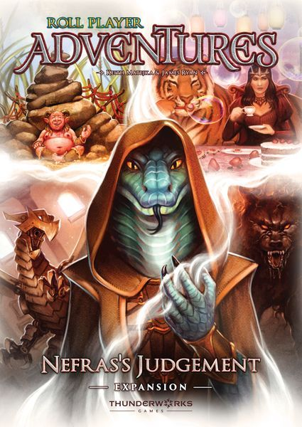 Nefras's Judgement expansion for Roll Player Adventures