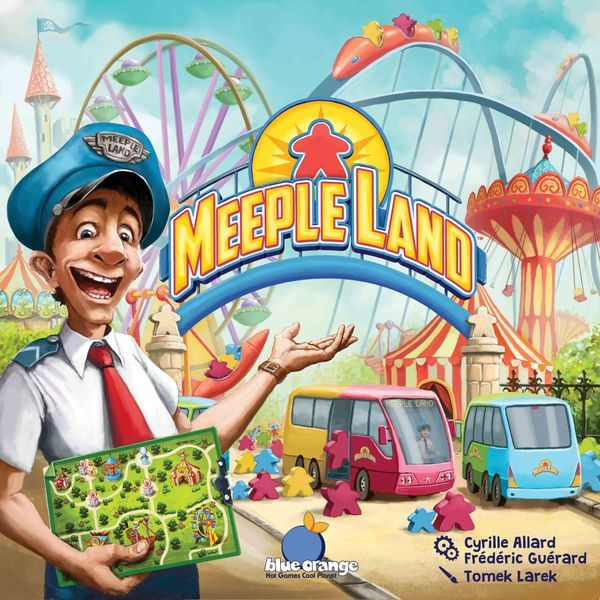 Meeple Land Board Game Cover