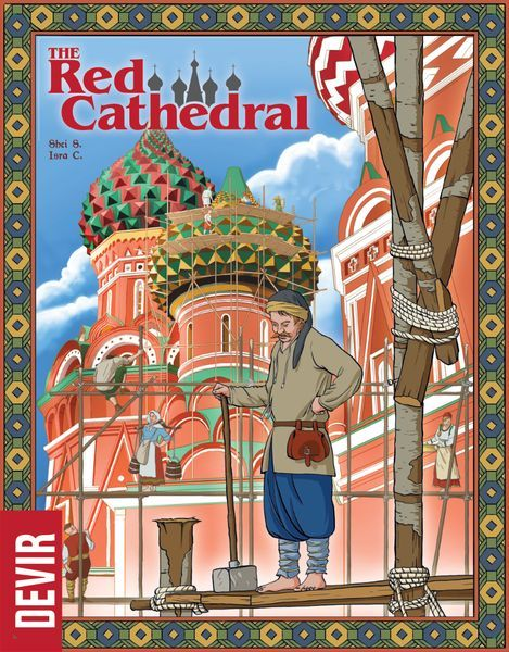 The Red Cathedral board game cover