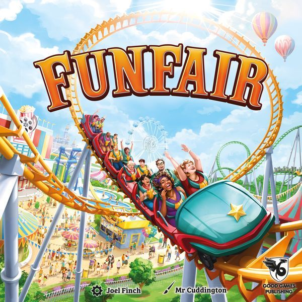 Funfair Board Game cover