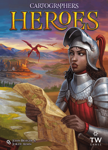 Cartographers Heroes cover