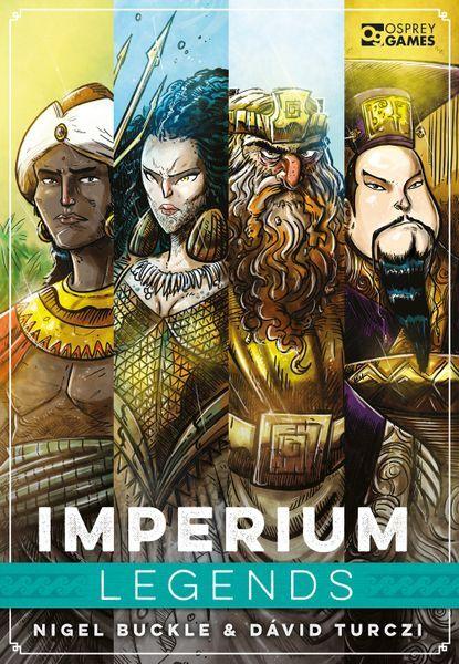 Imperium Legends Board Game cover