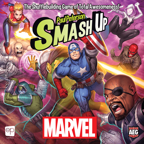 Smash Up Marvel cover