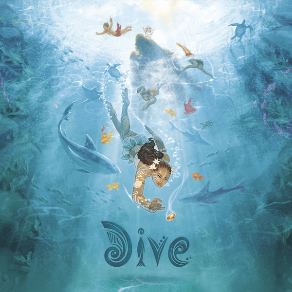Dive Board Game cover