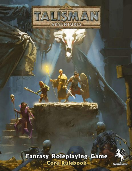 Talisman Adventures RPG cover