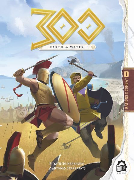 300 Earth and Water (Ares Games) cover