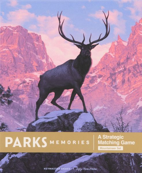 PARKS Memories Mountaineers cover