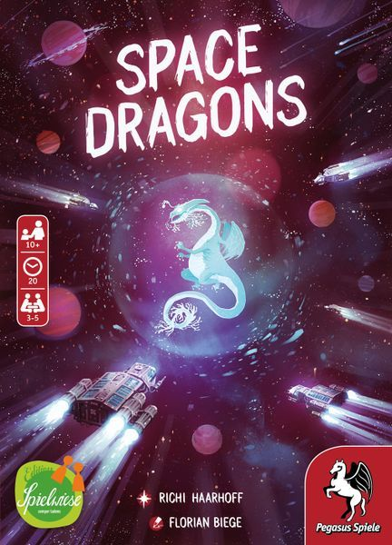 Space Dragons Card Game cover