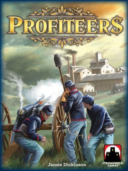 Profiteers Board Game cover