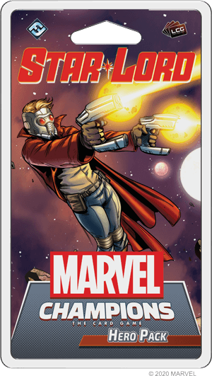 Marvel Champions Star-Lord Hero Pack cover