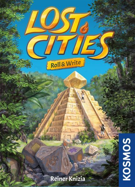 Lost Cities Roll & Write cover